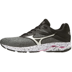 Mizuno Wave Rider 23 Running Shoes Women, glacier gray/white/black